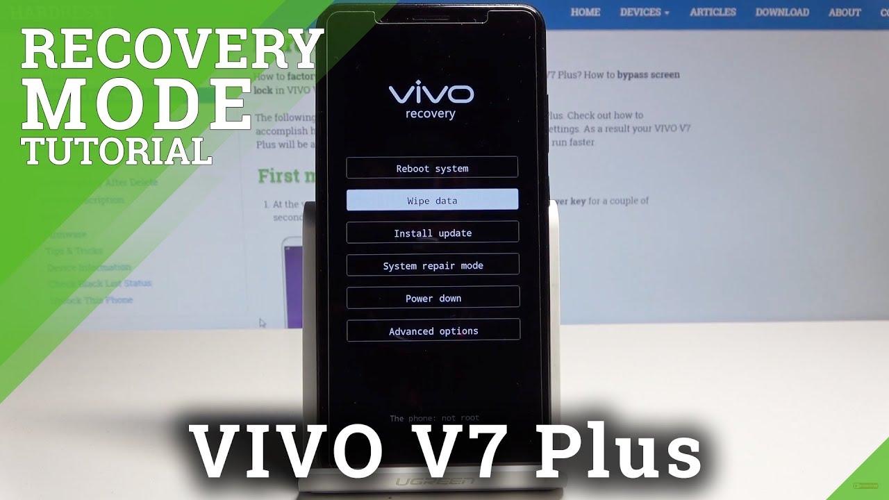 Hard Reset VIVO V7 Plus - HardReset info
