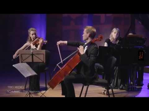 SCHUBERT : Notturno D897 - Trio MEDICI  (Vera LOPATINA, vl, Olga KIRPICHEVA, p, Jeremy GENET, vlc)