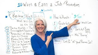10 Ways to Earn a Job Promotion - Project Management Training