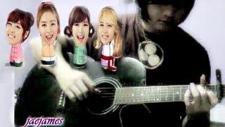 Naruto SD Rock Lee Ending SECRET シークレット Twinkle Twinkle (acoustic guitar solo)