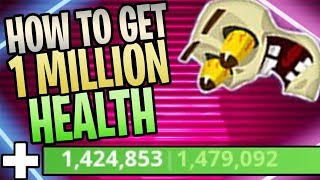 How To Get Over 1 Million Health In Save The World (Blast From The Past Team Perk Gameplay)