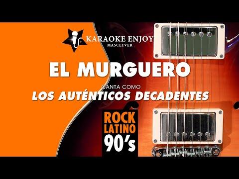 El murguero - Los Autenticos Decandentes (Versión cover Karaoke con letra pintada)
