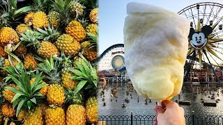 Disney DEBUTS Pineapple Cotton Candy & Here's Where To Get It