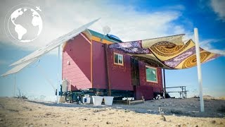 Gorgeous Gypsy Inspired Tiny House on Wheels
