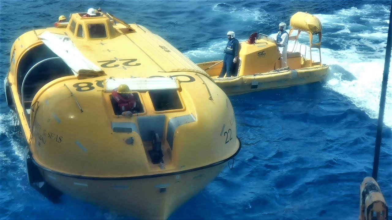 Cruise Ship Lifeboats & Rescue Boat of Royal Caribbean ...