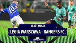 El. Ligi Europy: Legia Warszawa – Rangers FC [SKRÓT]