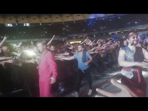 Imagine Dragons – Going from B-Stage live in Kiev Ukraine 31 08 2018