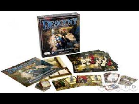 Распаковка настольной игры Hobby World Descent: Поместье Воронов из Rozetka.com.ua