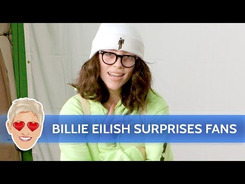 McCabe - Billie Eilish Dressed Up And Surprised Fans