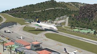 HUGE Planes VS St. Barths