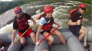 Whitewater rafting with NOC (Ocoee River, TN)