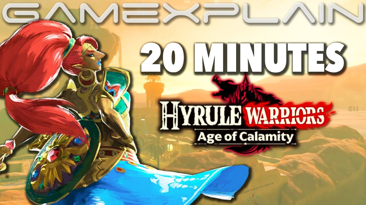 20 Minutes Of Hyrule Warriors Age Of Calamity Gameplay Urbosa New Stage More Treehouse Live Youtube