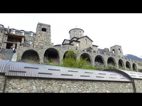 Северная Осетия-Алания. Аланский Свято-Успенский мужской монастырь. Куртатинское ущелье.