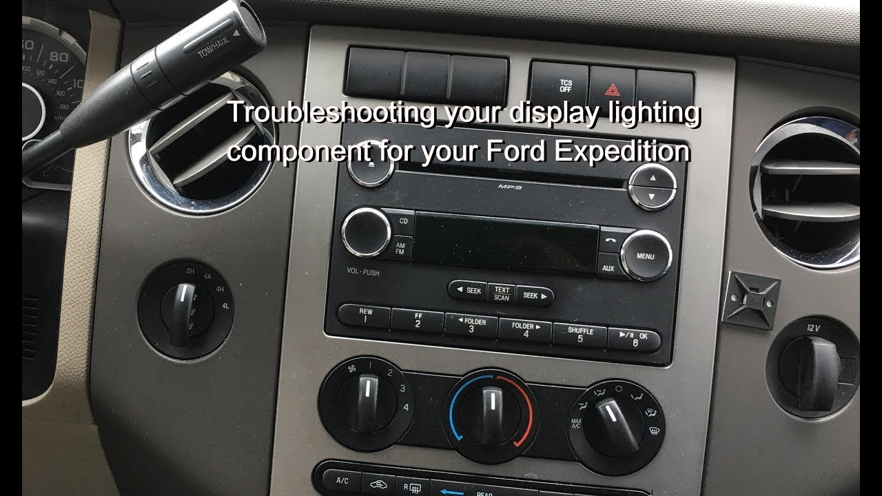 Your Ford Expedition Radio Display Not Working Check Out This Video Before Having It Serviced