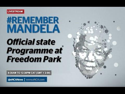 Official Programme #RememberMandela