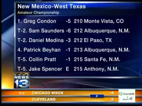 Monte Vista's Greg Condon wins Amateur NM-West TX title