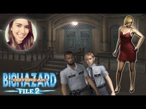 [ Resident Evil Outbreak: File #2 ] Desperate Times on Normal