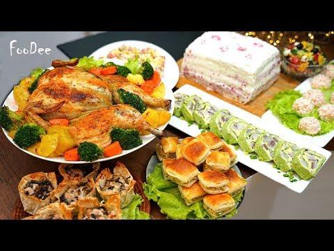 Праздничный стол за 2 ЧАСА! 8 СУПЕР быстрых рецептов на любой праздник