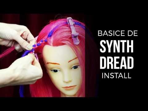 Double Ended (DE) DIY How To Install Synthetic Dreads - DoctoredLocks.com