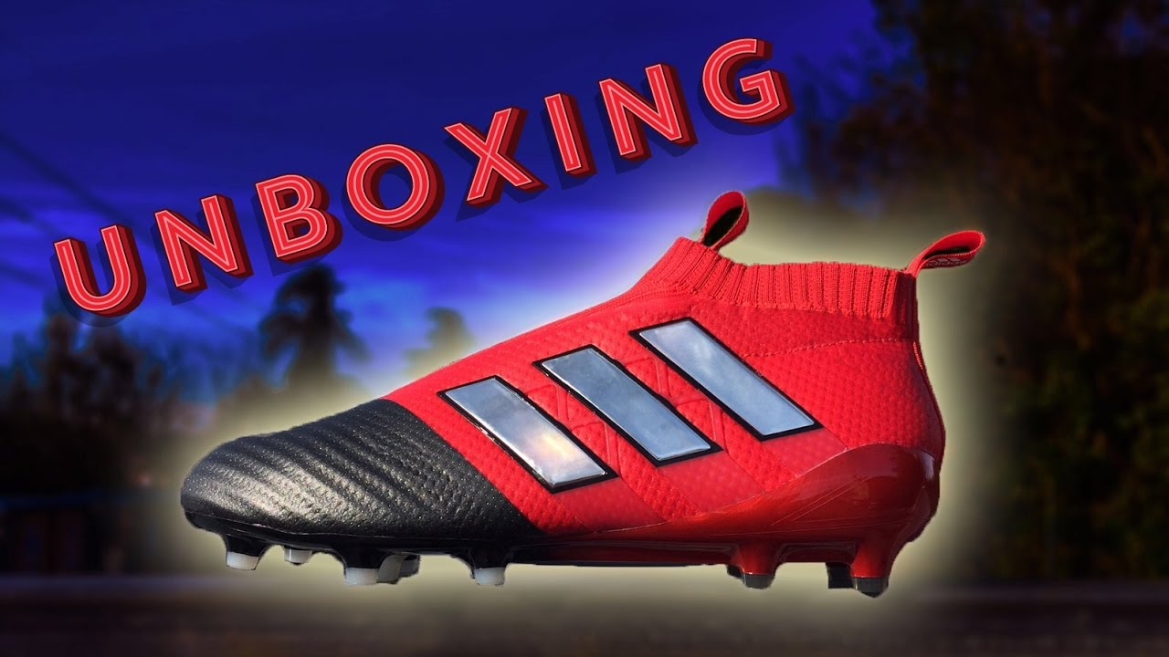 fa80af9eb Paul Pogba 2017 Football Boots  adidas ACE17+ Purecontrol Unboxing ...