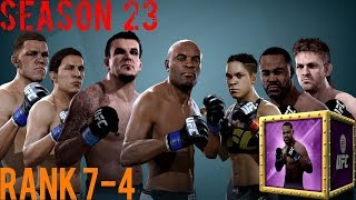 EA SPORTS UFC Mobile - H2H Season 23 Rank 7 - 4 Reward Opening!