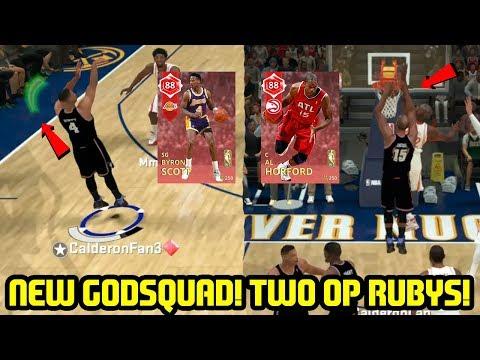 HORFORD IS UNREAL! RUBY BYRON SCOTT AND AL HORFORD! NBA 2K18 MYTEAM SUPERMAX