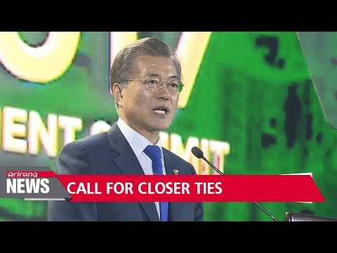 Pres. Moon outlines plan to cultivate people-oriented, peaceful, and prosperous relationship ...