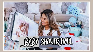 WHAT I GOT FOR MY DRIVE BY BABY SHOWER HAUL! DRIVE BY BABY SHOWER IDEAS