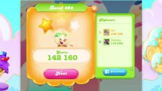 Candy Crush Jelly Saga Level 494-495 ★★★
