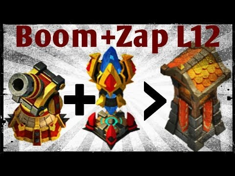 Hero Trials: Boomin 'n' Zappin Past L12 - Castle Clash D134