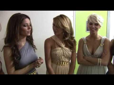 Girls Aloud - Untouchable - Backstage on Dancing On Ice