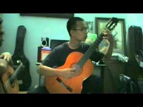 Romance_Gomez - Vũ Trung - Học viên lớp Guitar Trần Nhất
