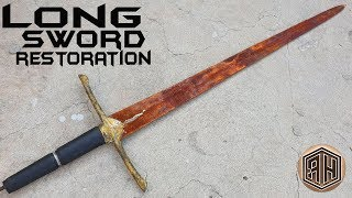 Rusted Long Sword - Satisfying RESTORATION