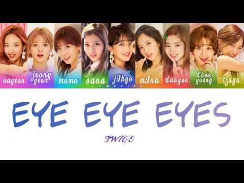 Twice 트와이스 Three Times A Day 하루에 세번 Color Coded Lyrics Han Rom Eng Youtube