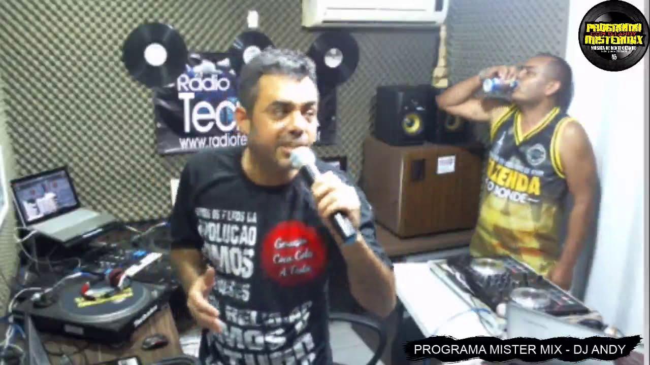 PROGRAMA MISTER MIX 25/04/2019 ANOS 80/90 HOUSE FUNK MELODY DJ ANDY & DOUGLAS DJ RADIO TECNOMIX