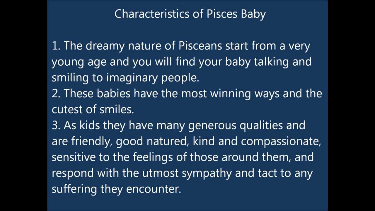 Pisces Child Table of Contents
