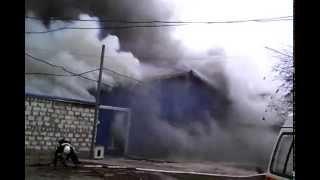 Пожар на мебельном складе - 2(Симферополь, 24/11/2014 небольшой пожар., 2014-11-24T17:01:29.000Z)