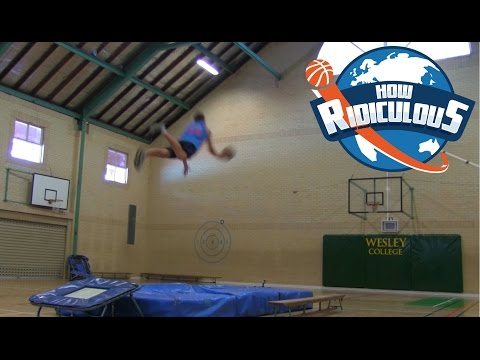Epic Basketball Trick Shots 2015 - How Ridiculous