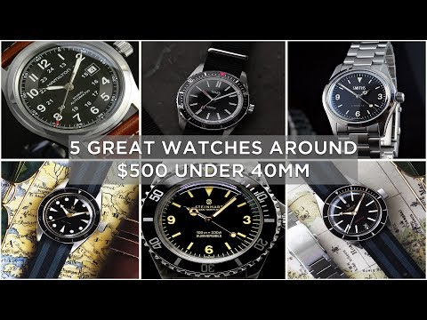 5 Great Watches Around $500 Under 40mm   Lorier, Hamilton & More