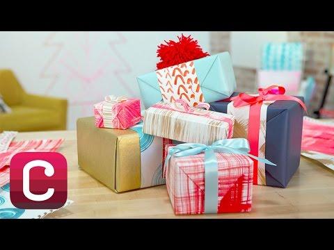 DIY Painted Holiday Gift Wrap with Courtney Cerruti I Creativebug