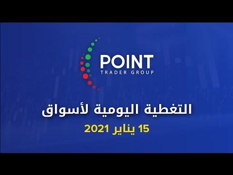 التحليل الفني: اليورو - الاسترليني - الذهب - الفضة - الداو 15 يناير 2021   Point Trader Group