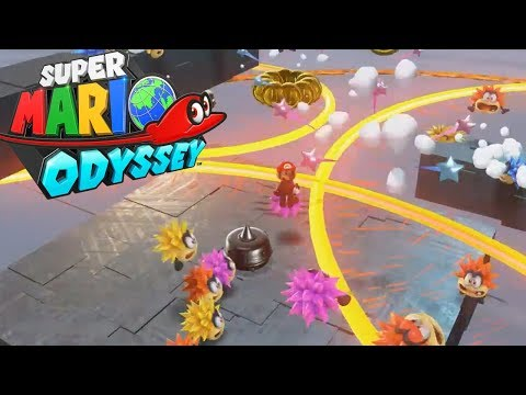 Super Mario Odyssey's HARDEST CHALLENGE! Darker Side Rivals Grandmaster Galaxy!
