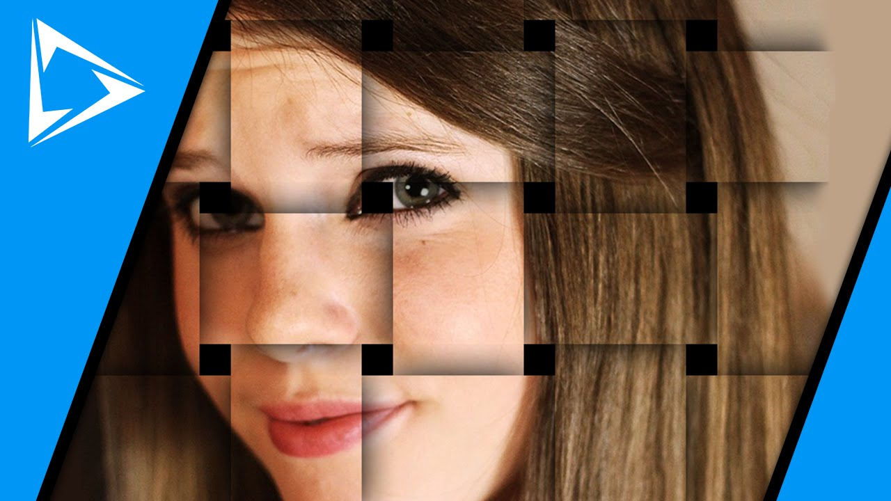 How To Make A Basket Weave Effect : Basket weave effect from a photo in