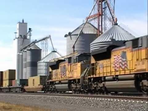 Union Pacific Nebraska Mainline Action!