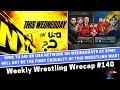 Weekly Wrestling Wrecap #140 NXT Airing on USA Network? | Will Vince TakeOver NXT? Aug 18 2019