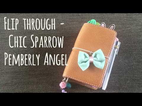 My Chic Sparrow Pemberly Angel pocket setup   Jenny