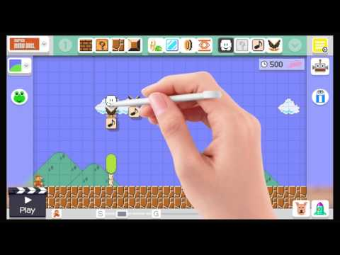 Mario Maker - Music level tutorial thumbnail