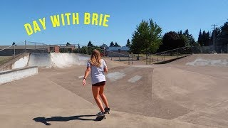 skating w/ brie!!