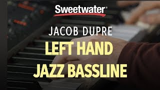 How to Play Left Hand Jazz Piano Walking Bass Techniques