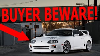 WATCH THIS Before You Buy A Mark 4 Supra